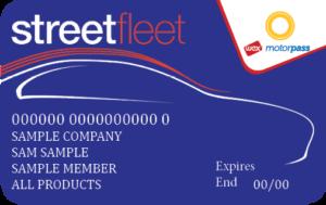 StreetFleet fuel card